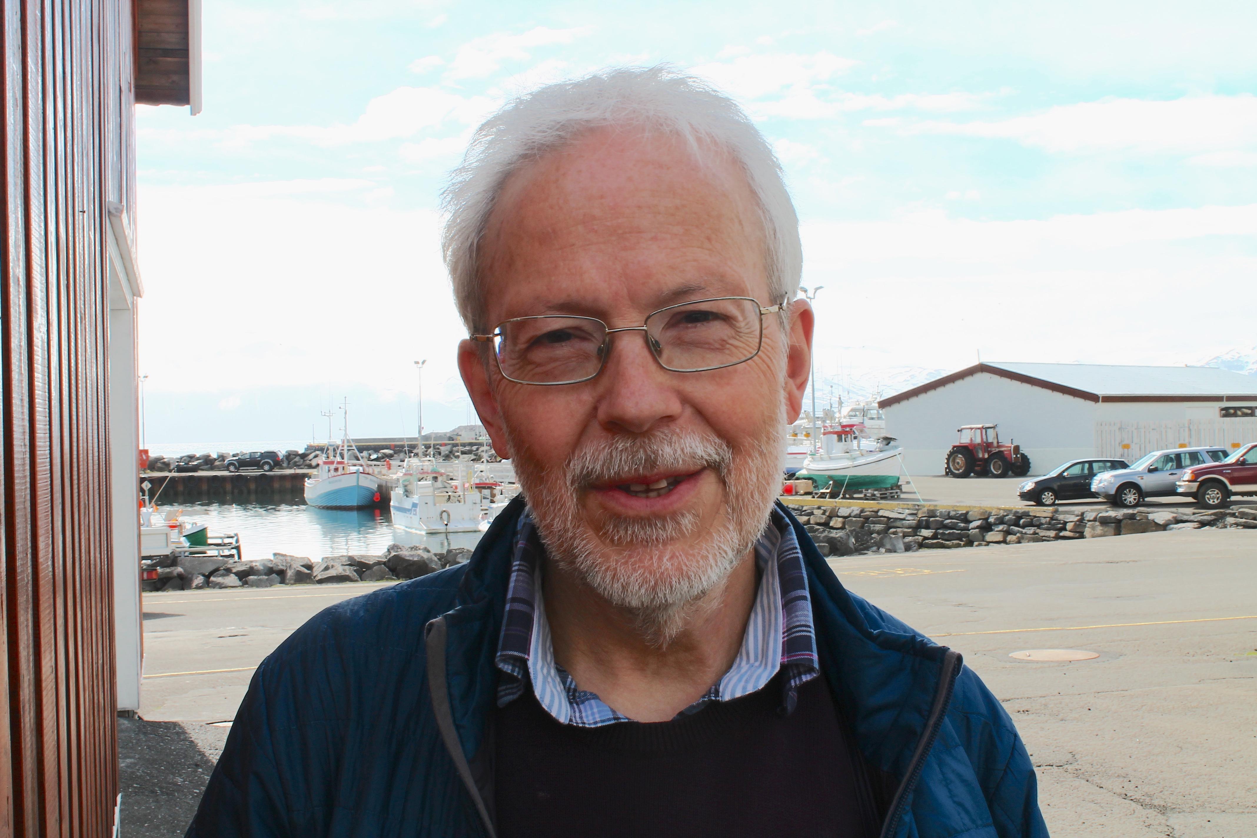 Erich Hoyt in Iceland 2018